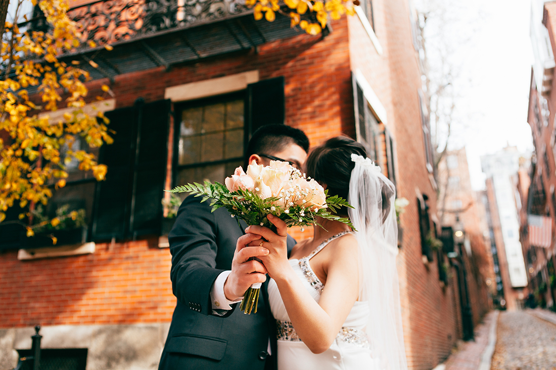 Beacon Hill Wedding, Boston