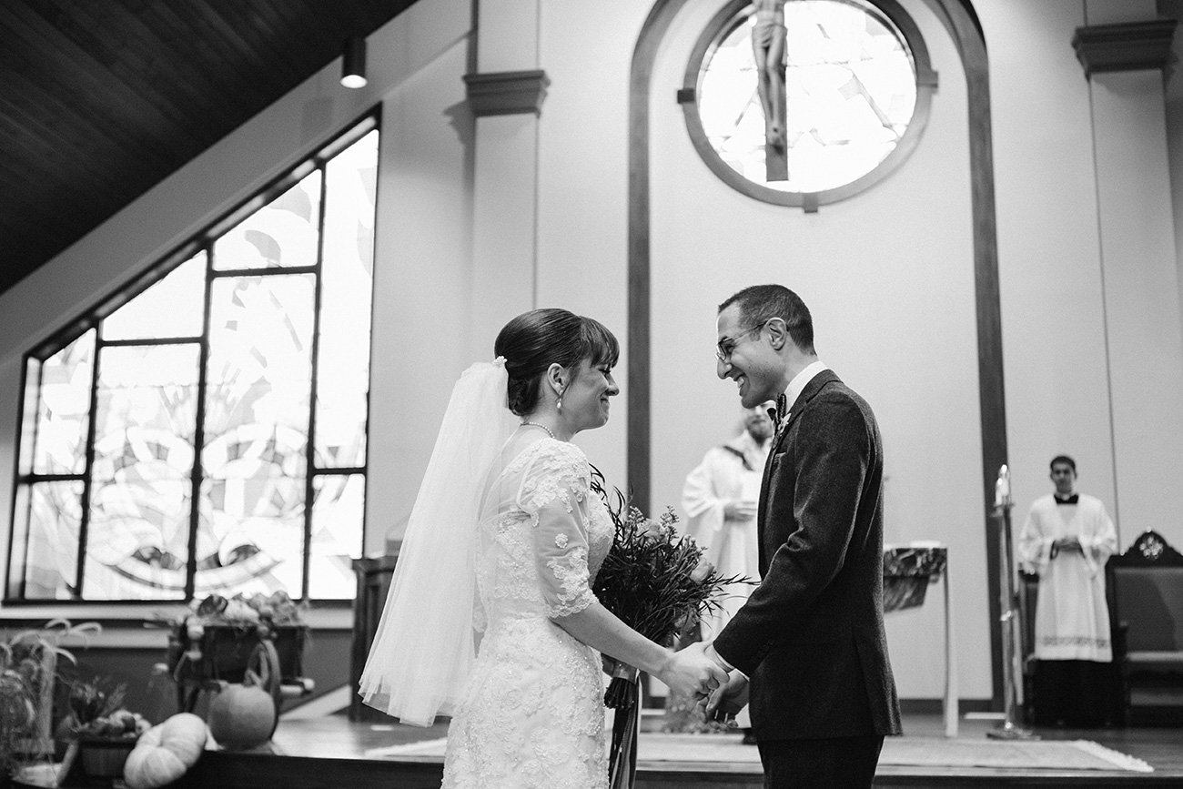 St. Rose of Lima, MA wedding photography