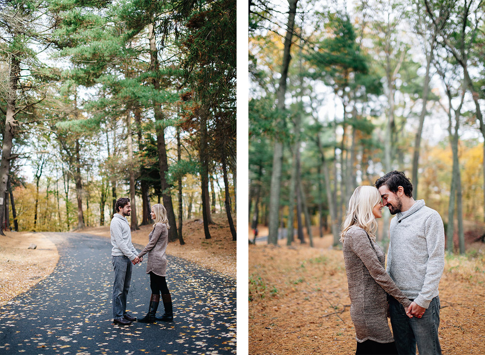 Pine Banks Park malden, MA engagement session