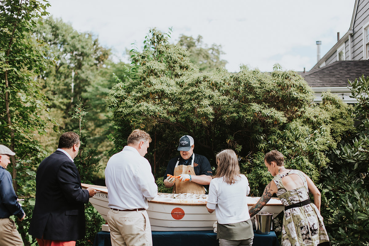 seafood raw bar wedding