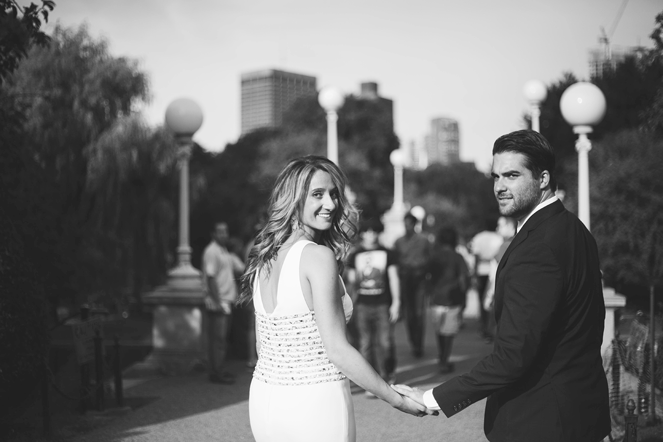 Engaged in Boston