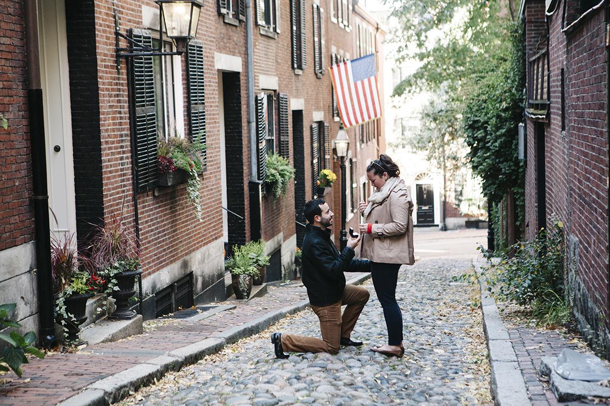 Boston Proposal Photography