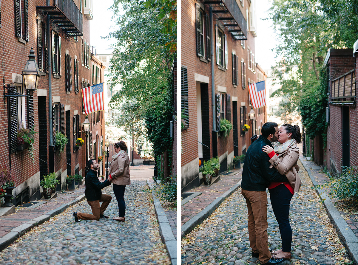 Proposed in Acorn Street, Beacon Hill, Boston, MA