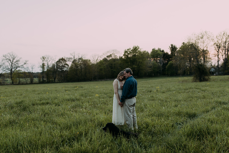 Massachusetts engagement photo at Appleton Farms