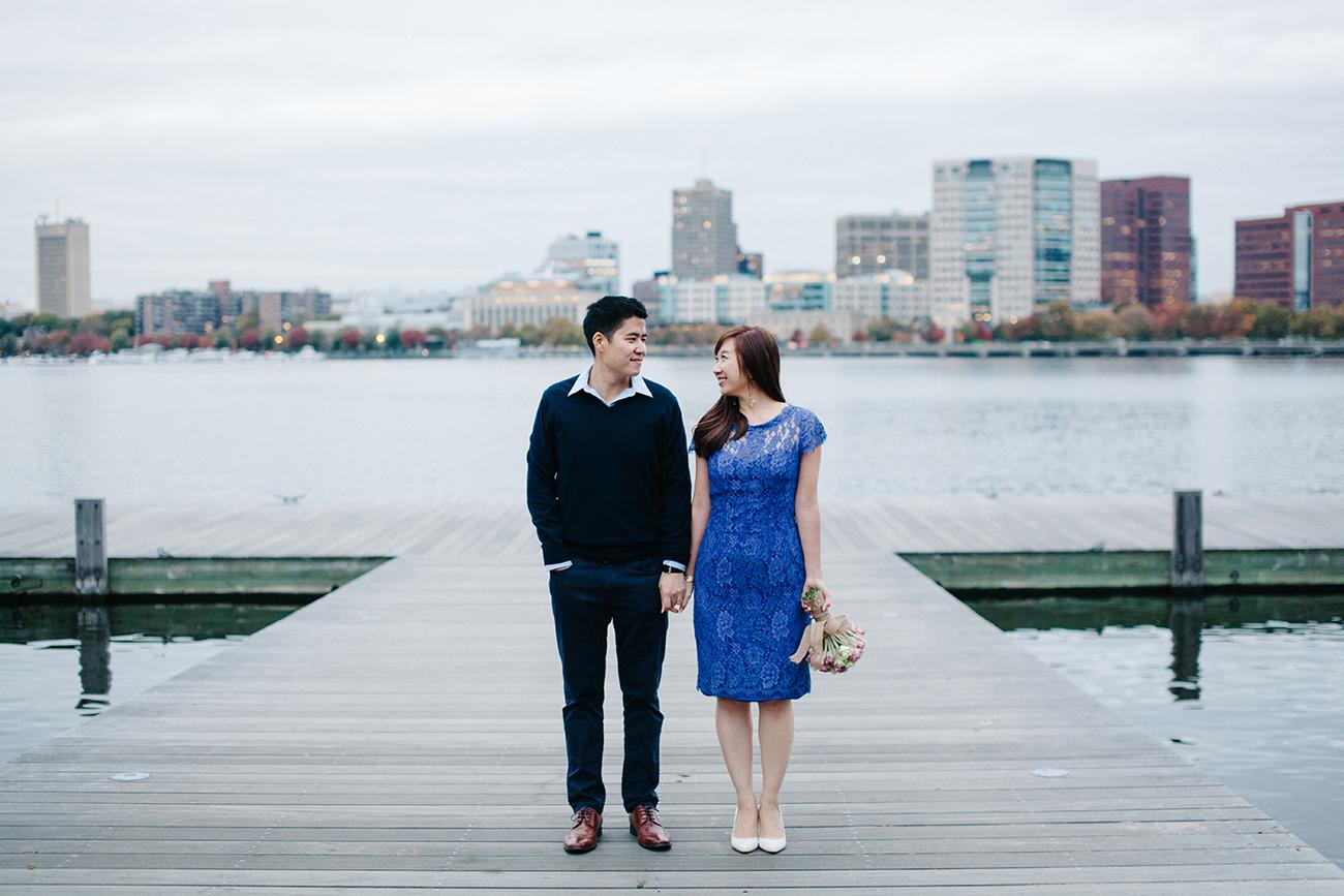 Boston Esplanade engagement