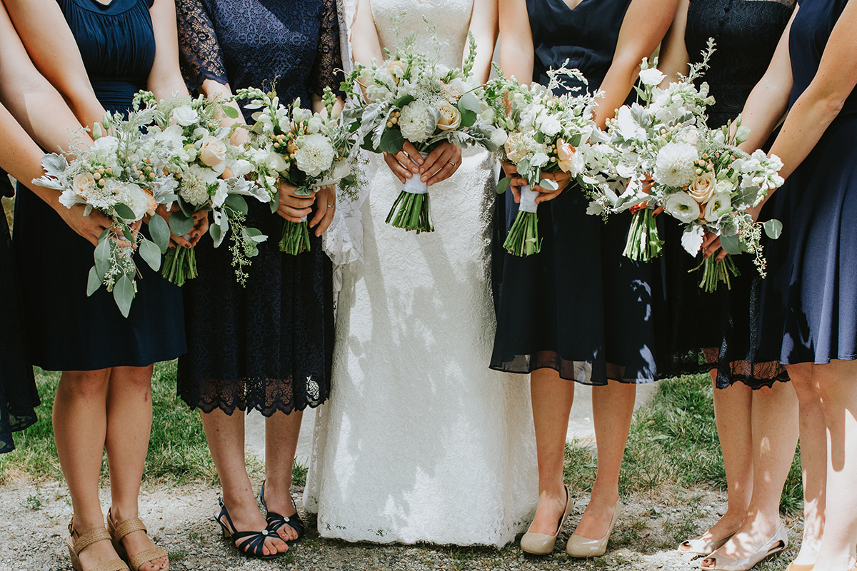 wedding bouquets | Newburyport documentary wedding