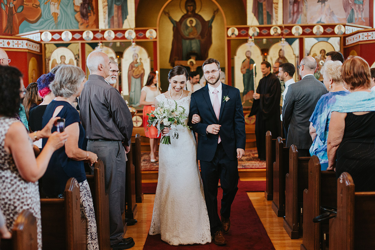 Annunciation Greek Orthodox Church Wedding | Newburyport, MA