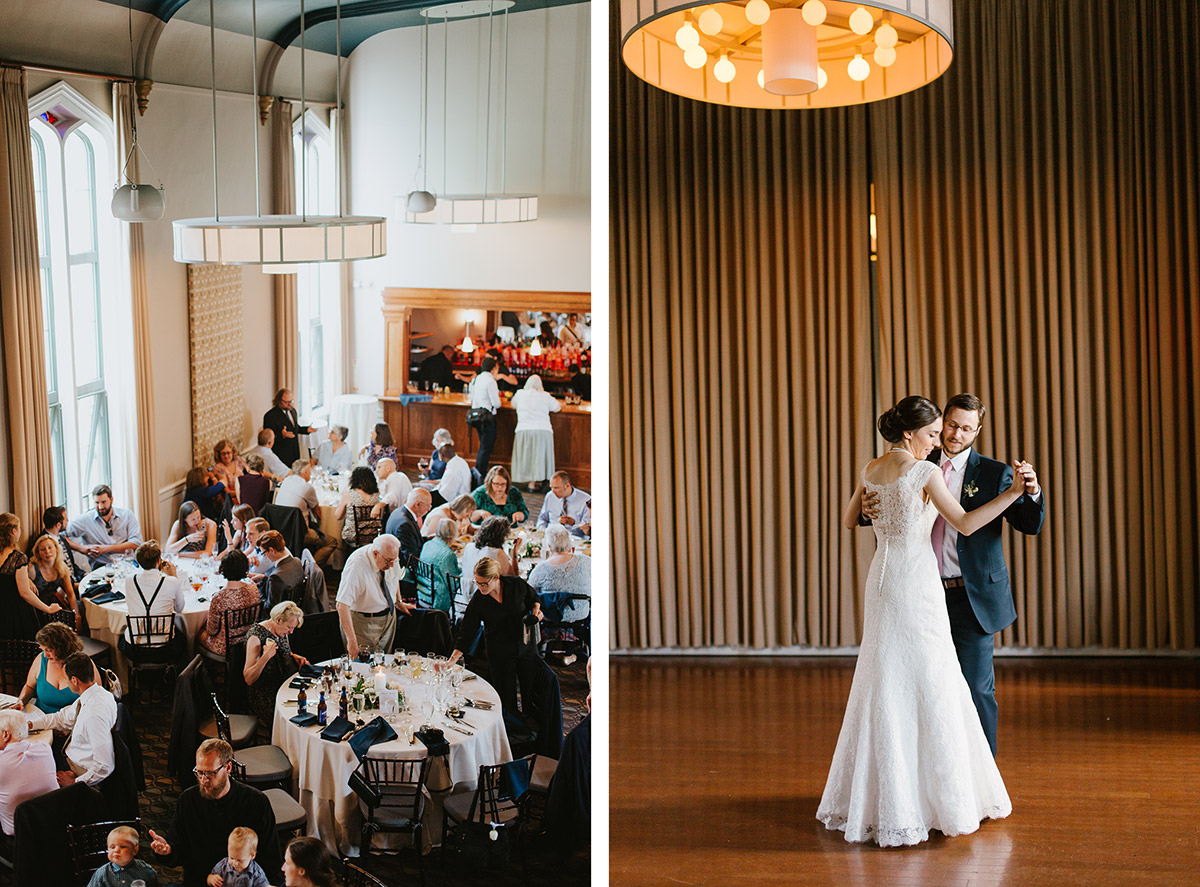 Steeple Hall at Mission Grill Oak | Greater Boston documentary wedding photography