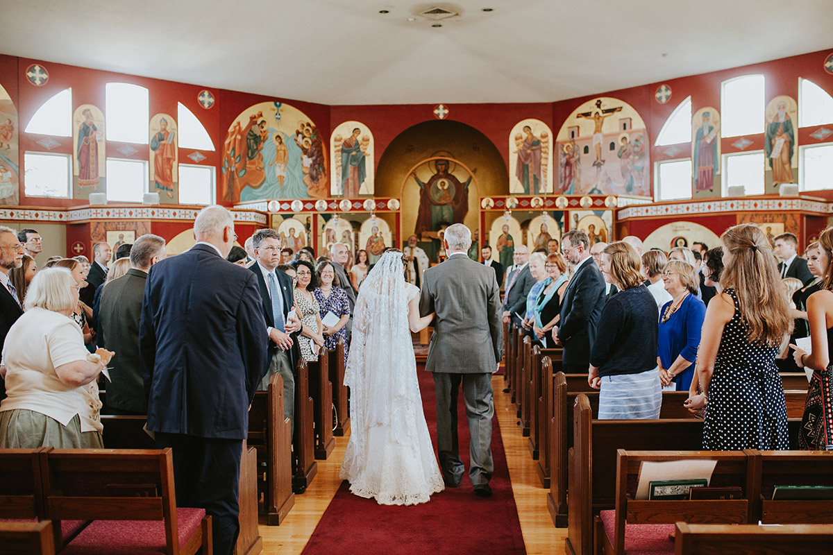 Greek Orthodox Wedding in Greater Boston Area
