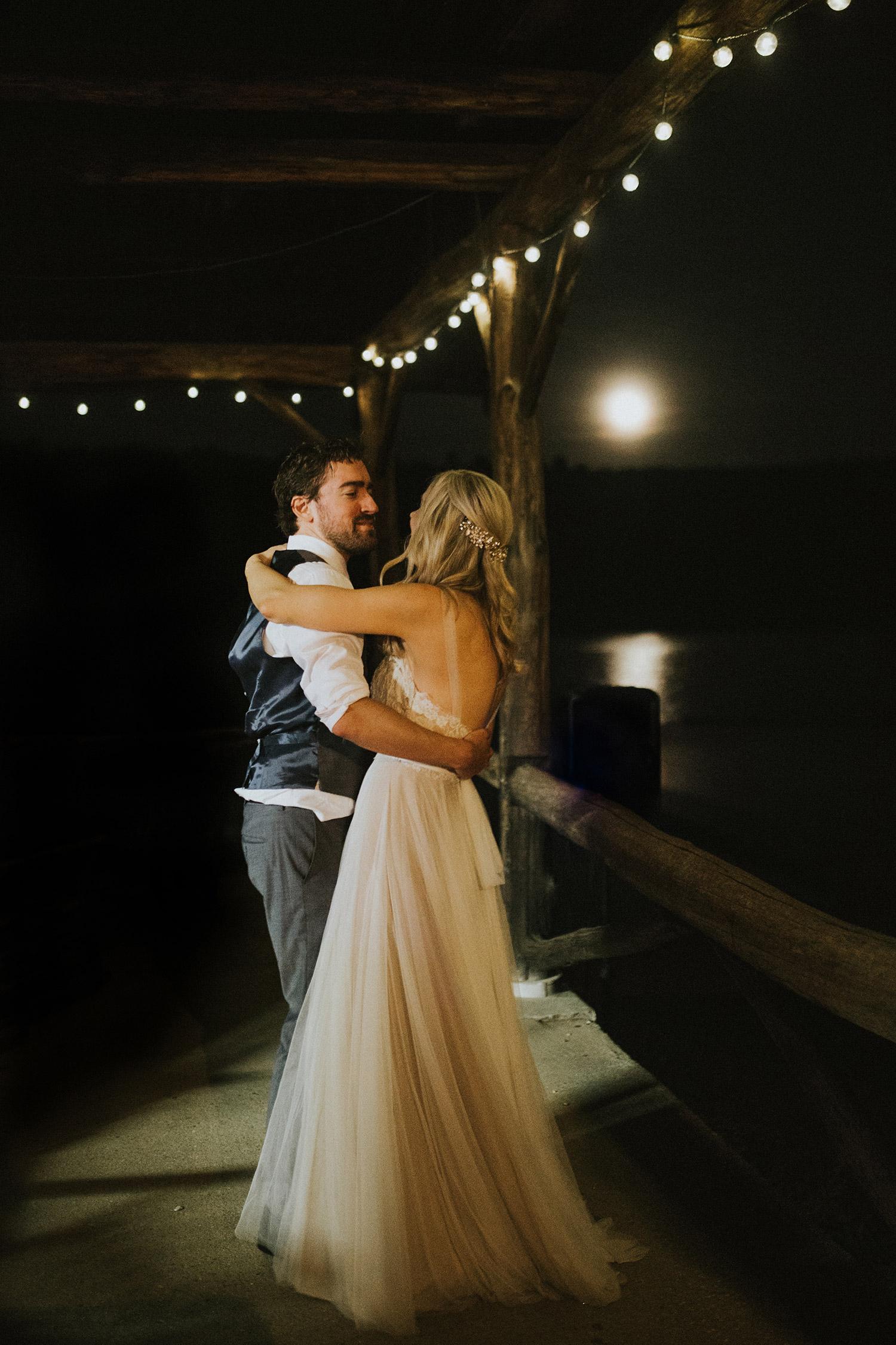 Massachusetts forest wedding