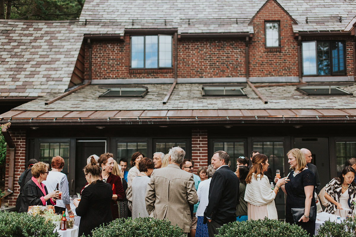 boston back yard wedding