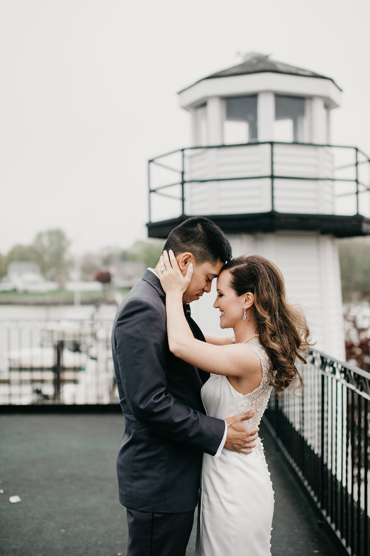 wedding portrait | danversport yatch club