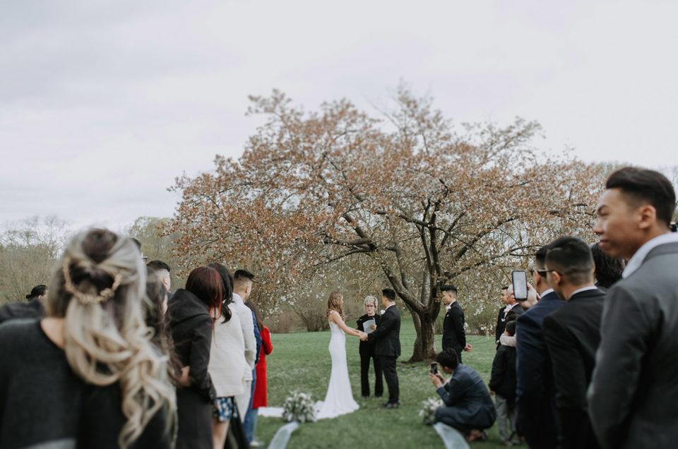 Arnold Arboretum Wedding | Nhu + Steven
