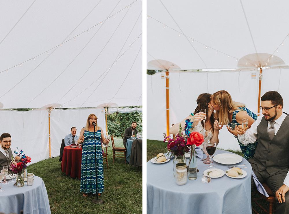 | boston backyard wedding | massachusetts wedding photographer
