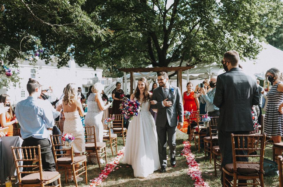 Back yard Wedding | Becca + Eugene