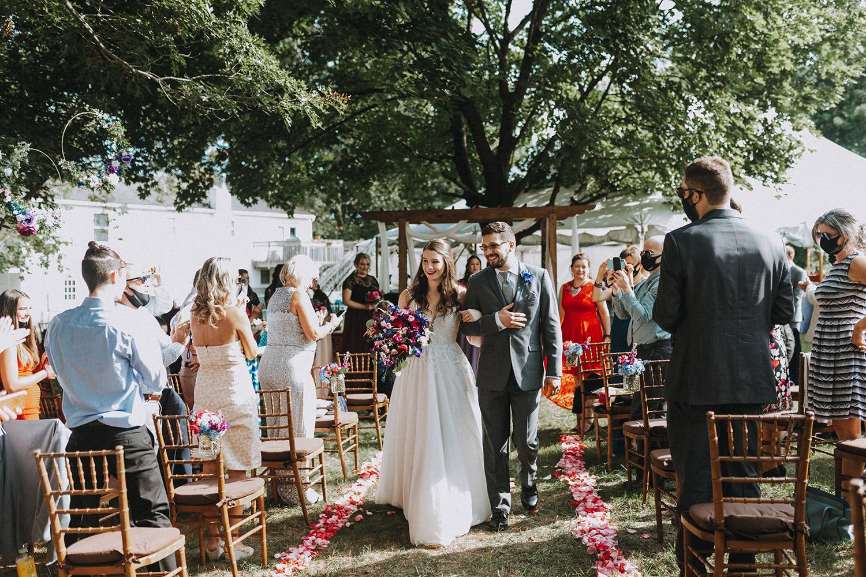 boston backyard wedding | massachusetts wedding photographer