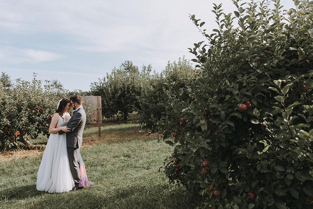 couple weddingboston backyard wedding | massachusetts wedding photographer